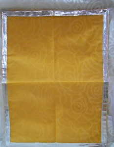 Big Size Doriya Pichhwai - 04, Orange