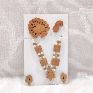 Wooden Moti Mala Set