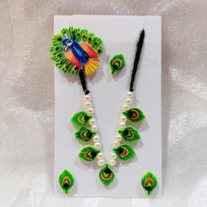 Chhip Mala Set Small, Green